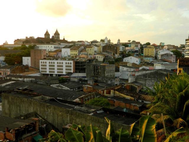 balcony view evening