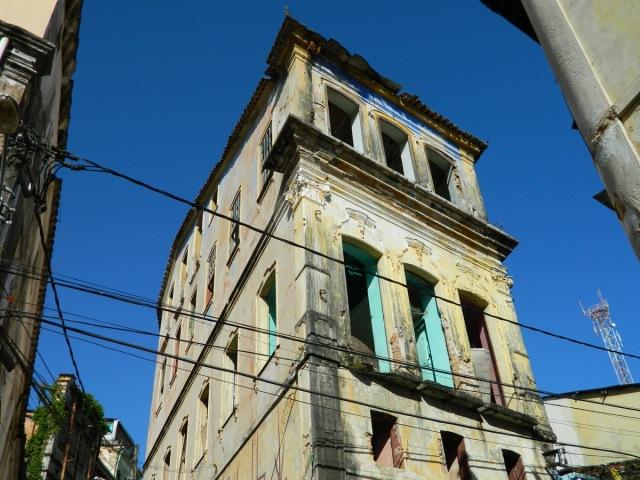 empty house Rua da Poeira