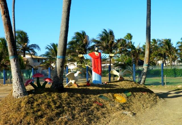 Lauro de Freitas beach Jesus