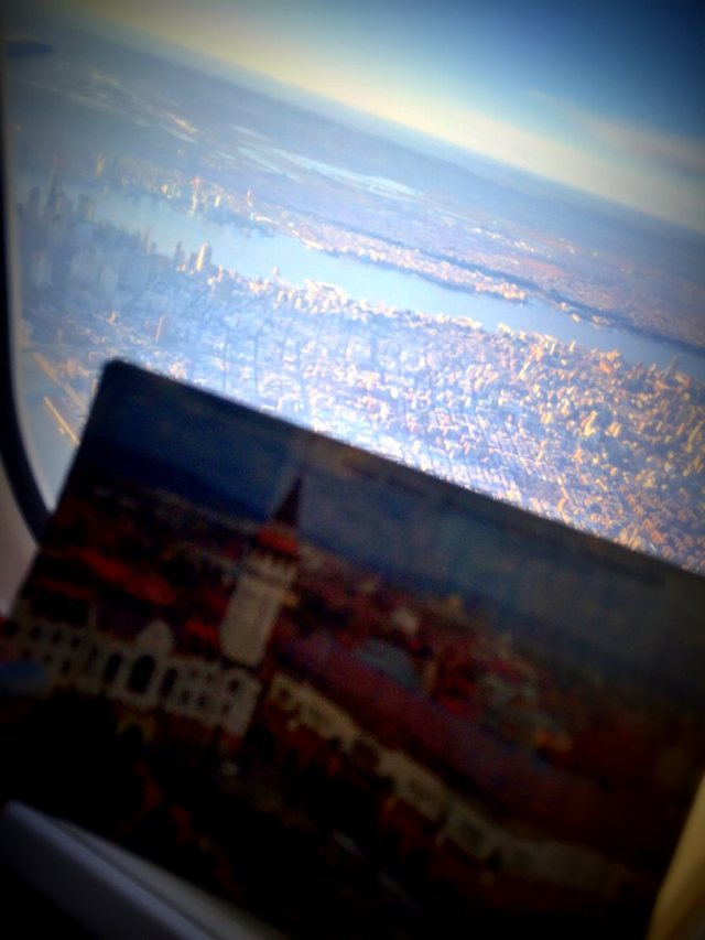 postcard TgM New York