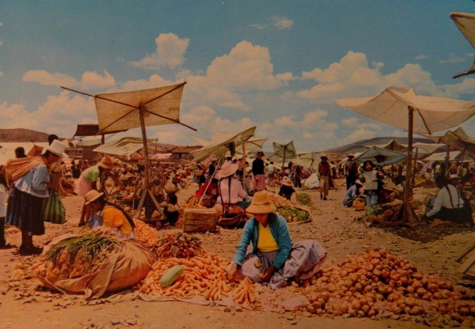 postcard La Cancha