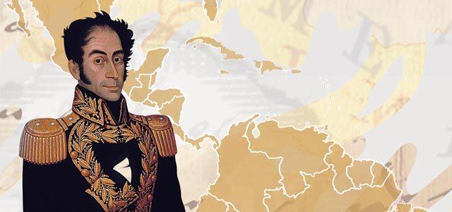 Bolivar map