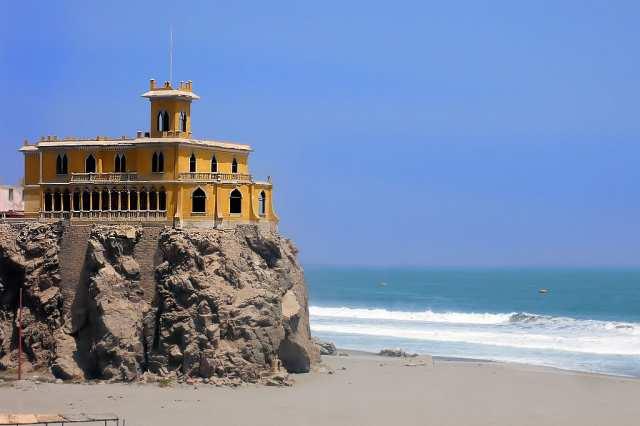 Mollendo Haus am Strand