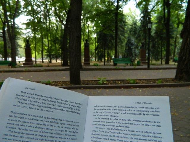 reading park Chisinau