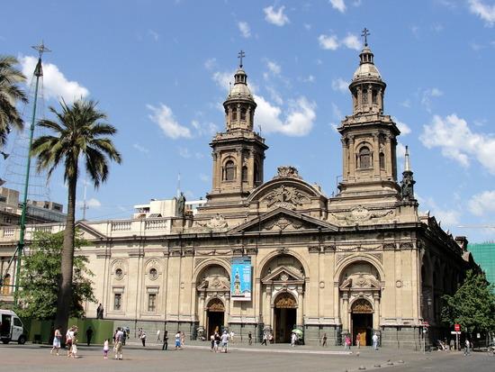 A belíssima catedral de Santiago