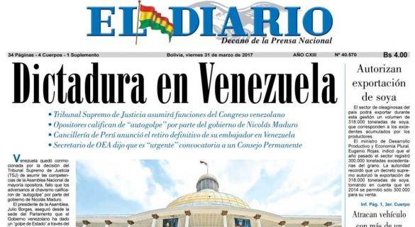 Dictadura en Venezuela