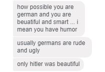 Hitler beautiful