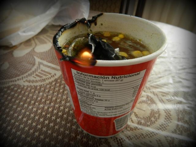 soup on fire