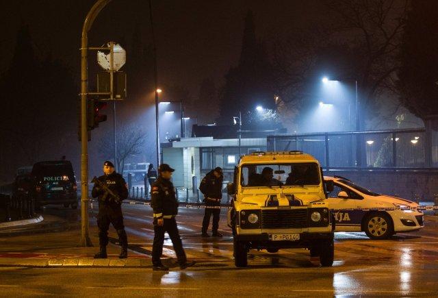 Podgorica embassy bombing