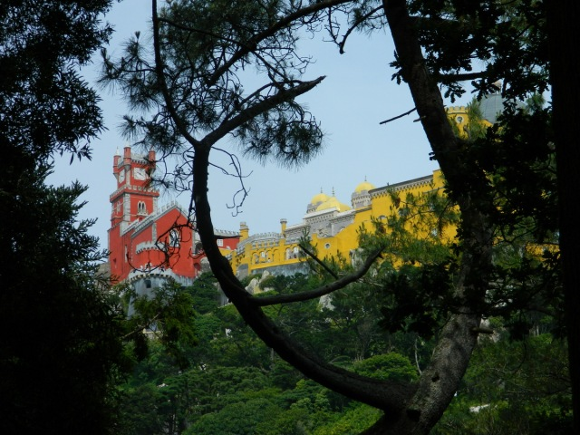 Pena through trees.JPG
