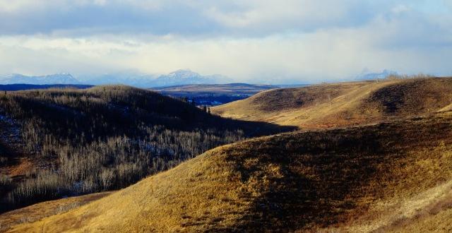 gentle hills rugged peaks.JPG