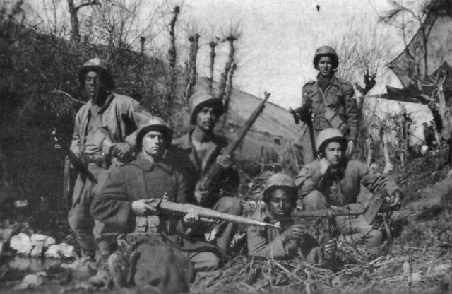 BEF soldiers in Italy