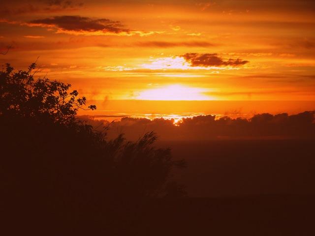 rainbow and sunset (2)