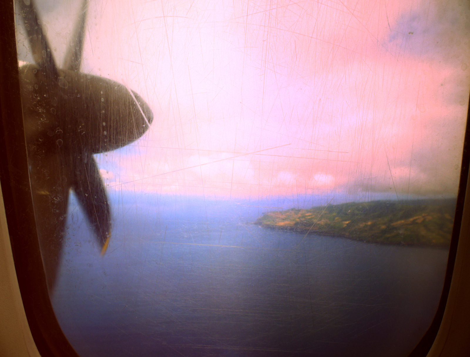 flying to Sao Miguel